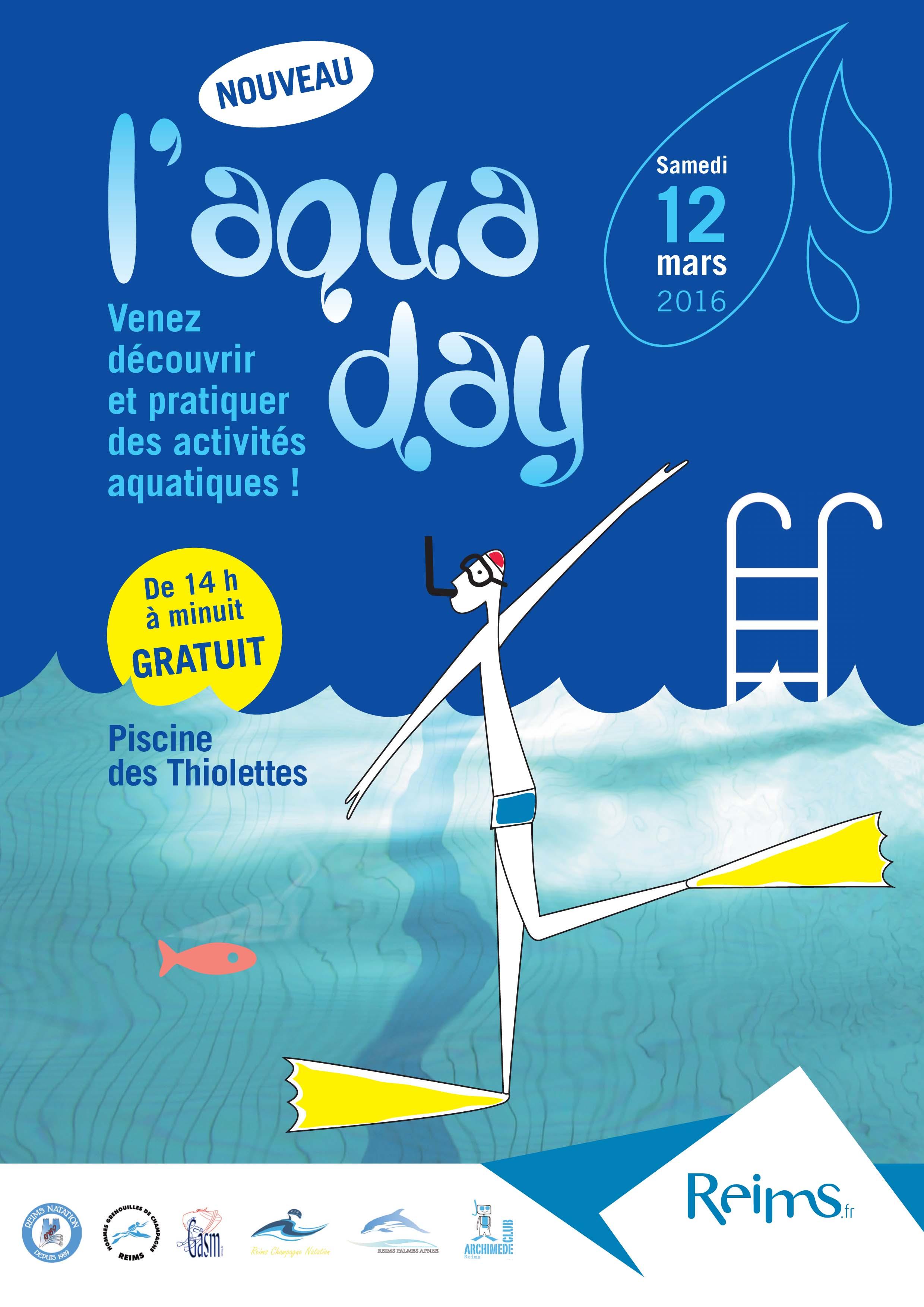 Aqua day hgc reims for Piscine thiolettes